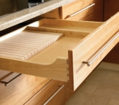 Cabico drawer knife rack